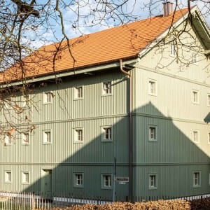 Renovierung Holzfassade